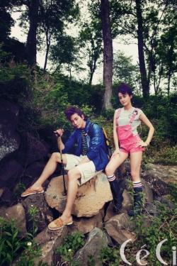 Joo Won, Kang Byul для CéCi July 2011