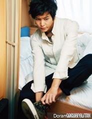 Joo Won для Cosmopolitan November 2012