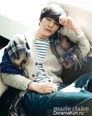 Joo Won для Marie Claire November 2012