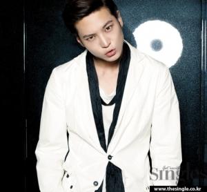 Joo Won для Singles July 2011