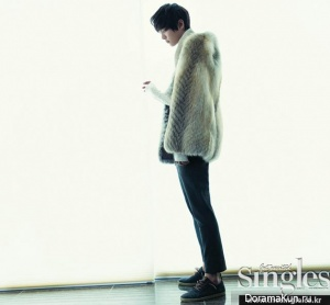 Joo Won для Singles November 2012 Extra