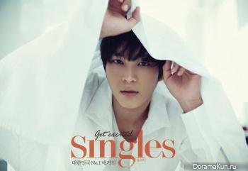 Joo Won для Singles November 2012