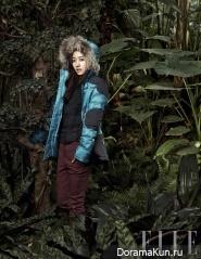 Jun Hye Bin для Elle December 2012