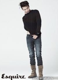 Joo Ji Hoon для Esquire November 2012