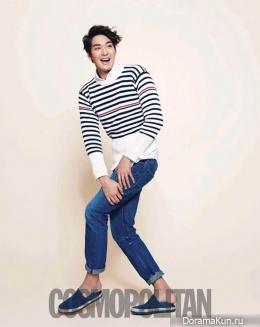Jung Gyu Woon для Cosmopolitan April 2013