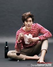 Jung Gyu Woon для Cosmopolitan Korea 2012
