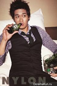 Jung Gyu Woon для Nylon October 2012