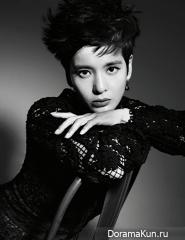 Jung Hye Young для Harper's Bazaar September 2012
