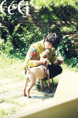 Jung Il Woo для CéCi October 2011