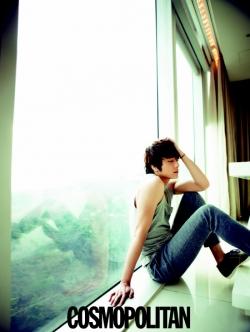 Jung Il Woo для Cosmopolitan Korea April 2011