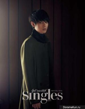 Jung Joon Young для Singles Korea September 2013