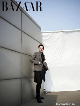 Jung Kyung Ho для Harper's Bazaar April 2013