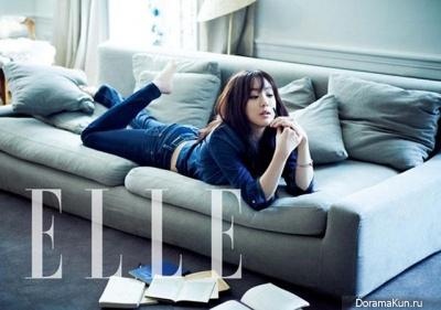 Jung Ryu Won для Elle March 2013