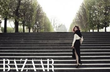 Jung Ryu Won для Harper's Bazaar Korea May 2012