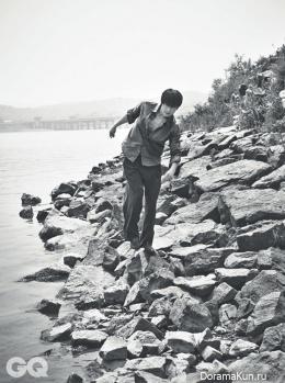 Jung Woo Sung для GQ Korea June 2014