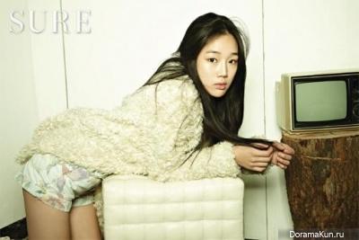Jung Yeon Joo для Sure December 2012