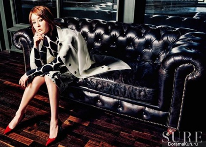 Jung Yumi для SURE Korea August 2013