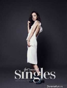 Jung Yumi для Singles January 2014