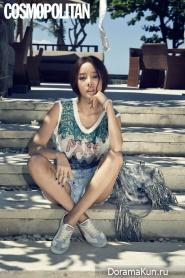 KARA (Goo Hara) для Cosmopolitan June 2014