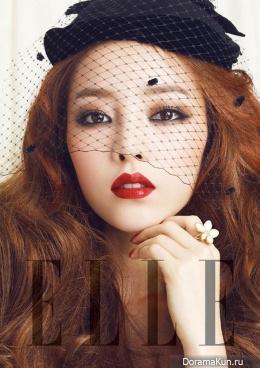 Goo Hara (KARA) для Elle April 2013