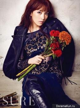 KARA (Jiyoung) для SURE November 2013