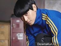 Kang Dong Won для Adidas' SS13 Ad Campaign