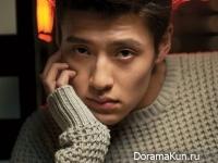 Kang Ha Neul для Singles Magazine February 2014