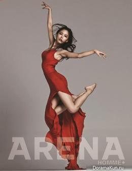 Kang Han Na для Arena Homme Plus January 2014