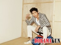 Kang Ji Hwan для Elle Korea June 2012 Extra