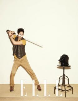 Kang Ji Hwan для Elle Korea June 2012