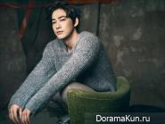 Kang Ji Hwan для The Celebrity Magazine January 2014