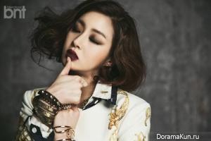 Kang So Ra для BNT International April 2014