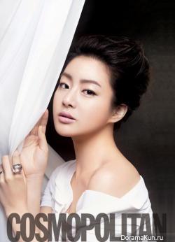 Kang So Ra для Cosmopolitan Korea 2012