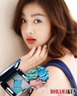 Kang So Ra для InStyle Korea May 2012