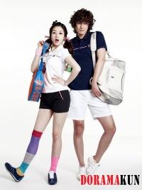 Kang So Ra для K-Swiss 2012 Ad Campaign