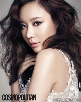 Kim Ah Joong для Cosmopolitan February 2014