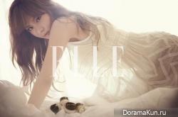 Kim Ah Joong для Elle December 2012 Extra