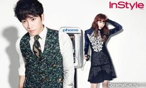 Kim Ah Joong и др. для InStyle December 2012