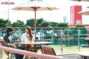 Kim Ah Joong для InStyle November 2012