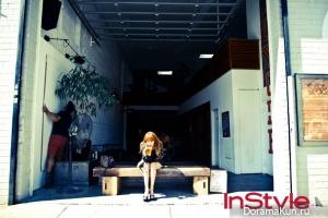 Kim Ah Joong для InStyle October 2012