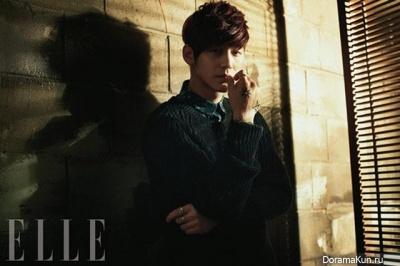 Kim Bum, Kim Kang Woo для Elle March 2013 Extra