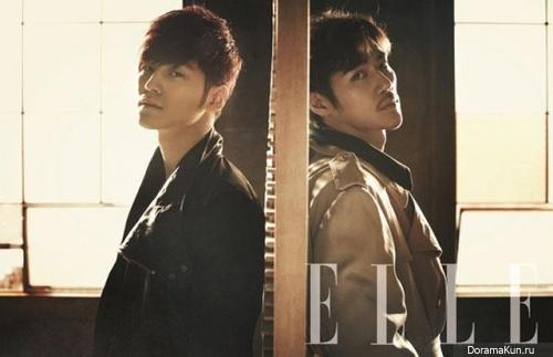 Kim Bum, Kim Kang Woo для Elle March 2013