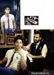 Kim Bum для Esquire Korea May 2013