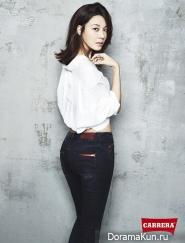 Kim Ha Neul для Carrera Jeans 2013 Ads