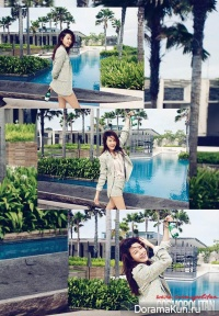 Kim Ha Neul для Cosmopolitan April 2013