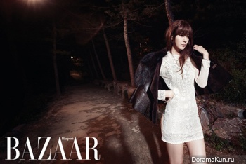 Kim Ha Neul для Harper's Bazaar November 2012