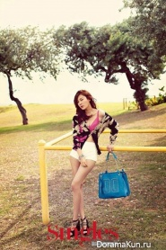 Kim Ha Neul для Singles 2012