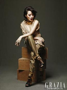 Kim Hye Soo для GRAZIA Korea 2013