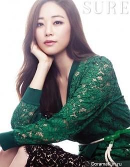 Kim Hyo Jin для SURE Korea September 2013