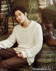Kim Jae Won для SURE October 2012